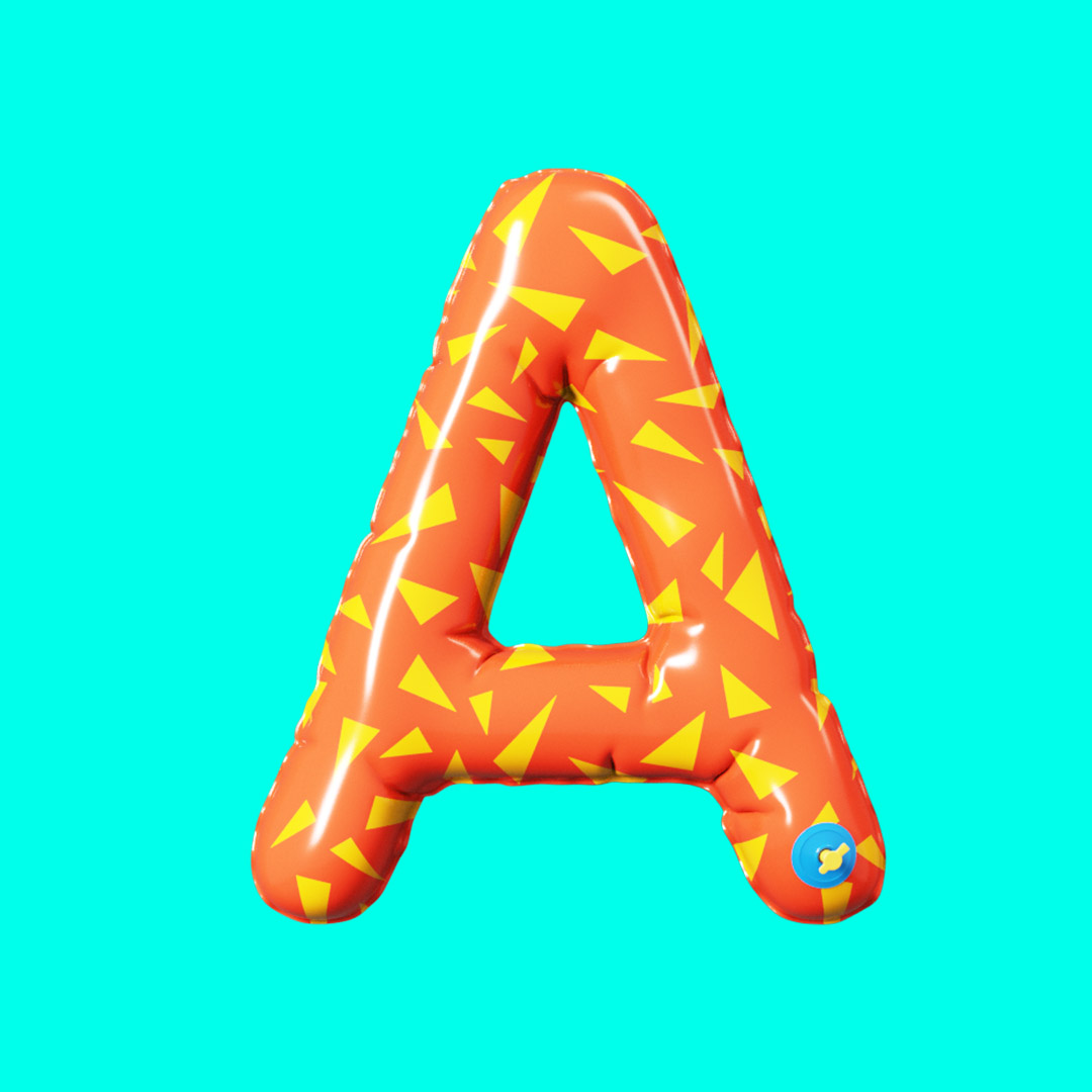 YIPPIEHEY_Samsung_A_3d-Letters_blowup