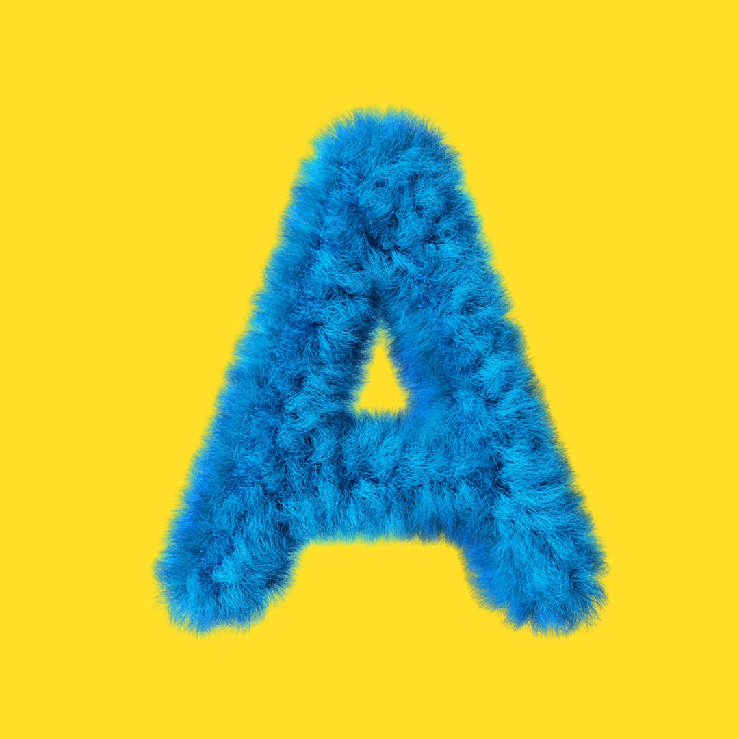 YIPPIEHEY_Samsung_A_3d-Letters_fur